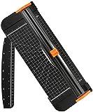 flintronic Cortadora de Papel A4, Guillotina de Papel Automático de Seguridad Salvaguardar, Corte...