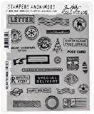 Stampers Anonymous Tim Holtz Cling Sellos, 22,86x 17,78x 0,76cm