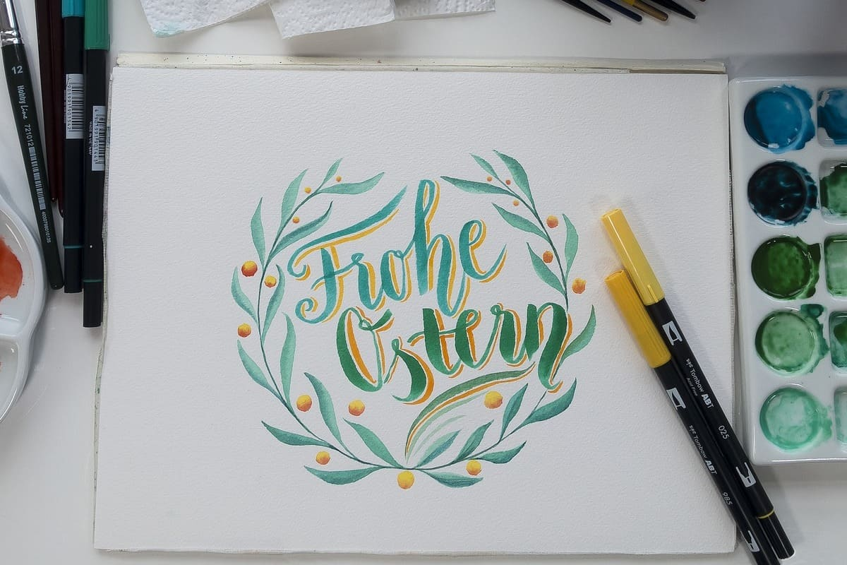 rotuladores tombow para scrapbook y lettering